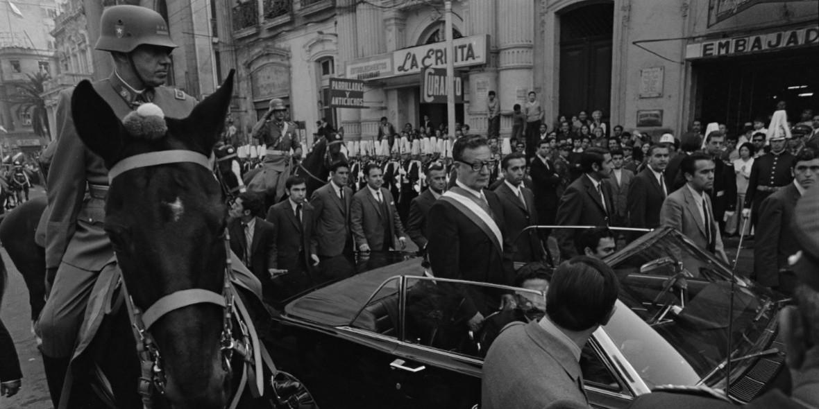 FOTOGRAFIE | Thomas Billhardt in Chile, Salvador Allende, Augusto Pinochet